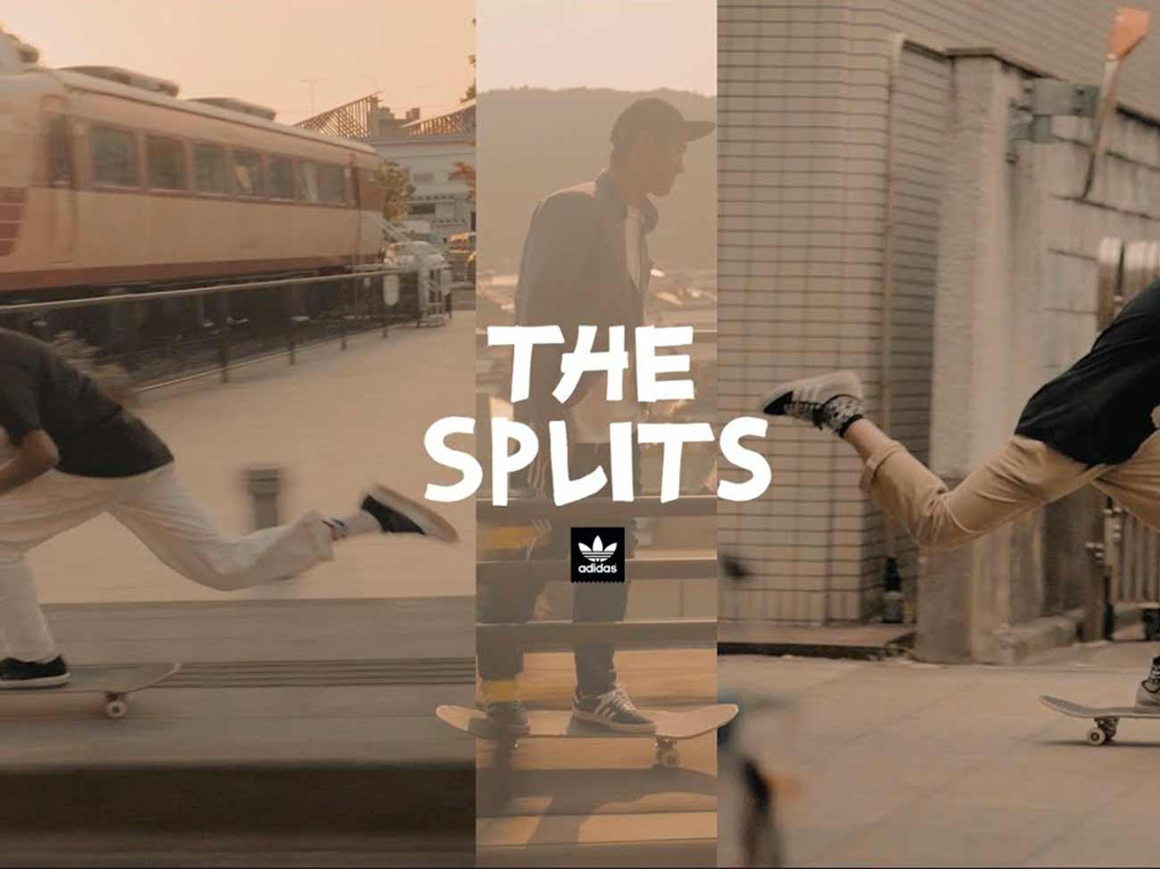 Clip | The Splits – Adidas Skateboarding Japan